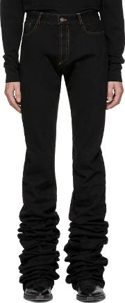 Yproject , Y Project Black Extra Long Jeans