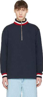 Noon Goons , Navy Court Pullover
