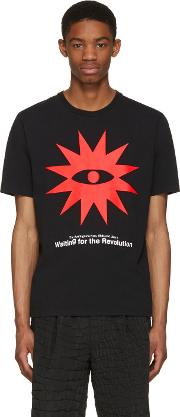 Undercover , Black Waiting For The Revolution T Shirt