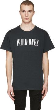 Amiri , Black Vintage Wild Ones T Shirt