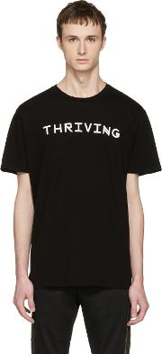 Baja East , Black Thriving T Shirt
