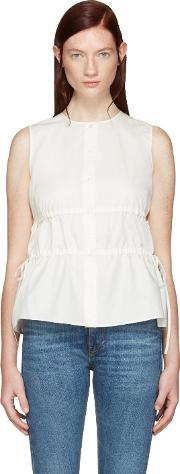 Brock Collection , Ivory Taylor Blouse