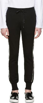 D By D , Black Piping Lounge Pants