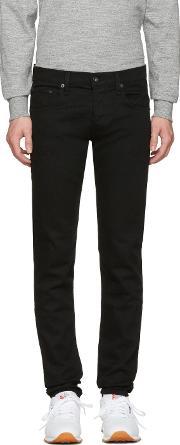 Rag And Bone , Black Standard Issue Fit 1 Jeans
