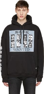 Richardson , Black Wanted Hoodie