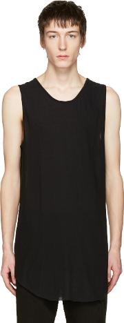 Song For The Mute , Black Mesh Jersey Tank Top