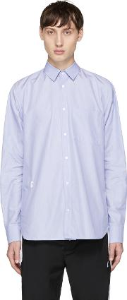 Tim Coppens , Blue Double Back Yoke Shirt