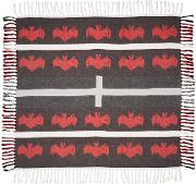 Undercover , Black And Red Bat Scarf