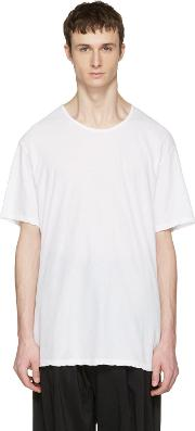 White , Slight Oversized T Shirt
