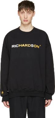 Richardson , Black Logo Pullover
