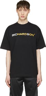 Richardson , Black Logo T Shirt