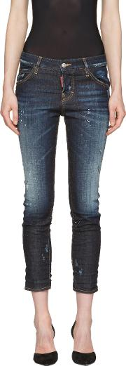 Dsquared2 , Blue Cool Girl Jeans