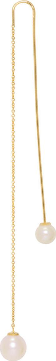 Delfina Delettrez , Gold Fishing For Compliments Earring