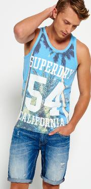 Superdry , California State Vest Top