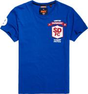Superdry , Limited Edition Modern Football T Shirt