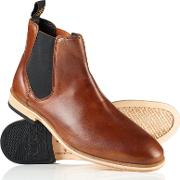 Superdry , Meteora Chelsea Leather Boots