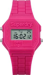 Superdry , Mini Retro Digi Colour Block Watch