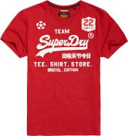 Superdry , Classic Limited Edition Football T Shirt