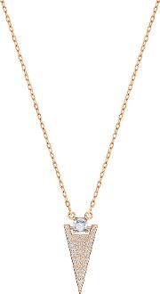 Swarovski , Funk Necklace White Rose Gold Plated