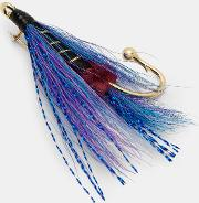 Ted Baker , Fishing Fly Lapel Pin Blue