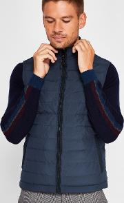 Ted Baker , Quilted Down Gilet Teal