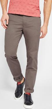 Ted Baker , Slim Fit Chinos Charcoal
