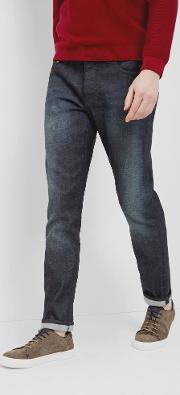 Ted Baker , Straight Fit Jeans Dark Wash
