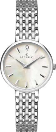 Accurist , Ladies Silver London Watch 8153