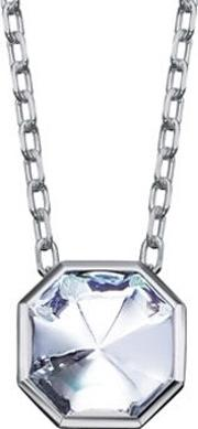 Baccarat , L Illustre Small Clear Crystal Necklace 2611924