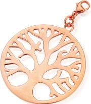 Chlobo , Rose Gold Plated Tree Of Life Pendant Charm Rp633