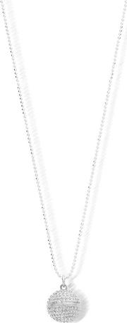 Chlobo , Silver Ball Chain Spikey Dreamball Necklace Scdc1824