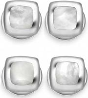 Deakin And Francis , Mother Of Pearl Cushion Dress Studs C0147n0001