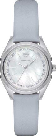Emporio Armani , Ladies Mother Of Pearl Watch Ar11032