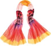 Fraas , Polyester Orange Red Tropical Island 625825-470