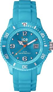Icewatch , Ice-watch Mens Ice-forever Turquoise Watch Si.te.b.s.13