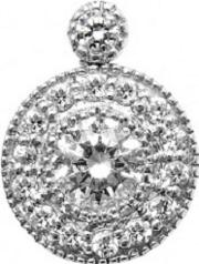 Mastercut , 18ct White Gold Diamond Cluster Pendant C6pe001 075w