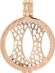 Mi Moneda , Rose Gold-plated 25mm Coin Keeper Pen-03-s