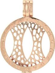 Mi Moneda , Rose Gold-plated 29mm Coin Keeper Pen-03-m