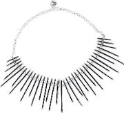 Pasha , Silver Plated Multi Bar Drop Necklet O1023charlotte