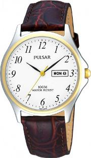 Pulsar , Mens Strap Watch Pxd294x1