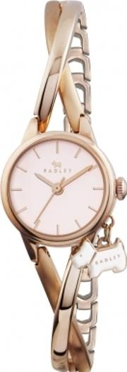 Radley , Ladies Rose Gold Crossover Watch Ry4184
