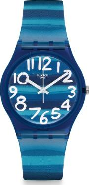 Swatch , Linajola Unisex Blue Strap Watch Gn237