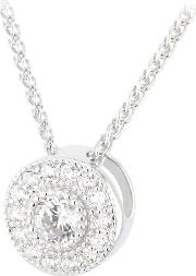 The Real Effect , Cubic Zirconia Round Cluster Pendant Re14944