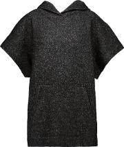 Etoile Isabel Marant , Dresley Wool Blend Hooded Sweater Anthracite