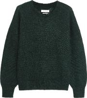 Etoile Isabel Marant , Clifton Mohair Blend Sweater Forest Green