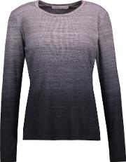 Kain , Edith Gradient Stretch Modal Top Charcoal