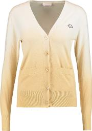 See By Chloe , Appliqued Cotton Cardigan Cream