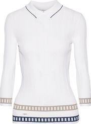 Letoile Sport , L'etoile Sport Stretch Knit Sweater White