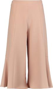Iris And Ink , Fluted Cady Culottes Blush