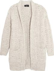 Line , Curtis Open Knit Cardigan Light Gray